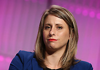 LOS ANGELES, CA - NOVEMBER 2: Katie Hill, at TheWrap's Power Women's Summit Inside at the InterContinental Hotel in Los Angeles, California on November 2, 2018. Credit: Faye Sadou/MediaPunch