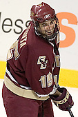 Stephen Gionta - The Boston University Terriers defeated the Boston College Eagles 2-1 in overtime in the March 18, 2006 Hockey East Final at the TD Banknorth Garden in Boston, MA.