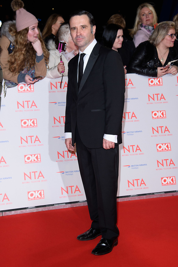 Andrew Scarborough<br /> arriving for the National Television Awards 2018 at the O2 Arena, Greenwich, London<br /> <br /> <br /> ©Ash Knotek  D3371  23/01/2018