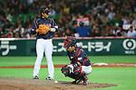 (L to R) .Hayato Sakamoto (JPN), .Shinnosuke Abe (JPN), .MARCH 2, 2013 - WBC : .2013 World Baseball Classic .1st Round Pool A .between Japan 5-3 Brazil .at Yafuoku Dome, Fukuoka, Japan. .(Photo by YUTAKA/AFLO SPORT)