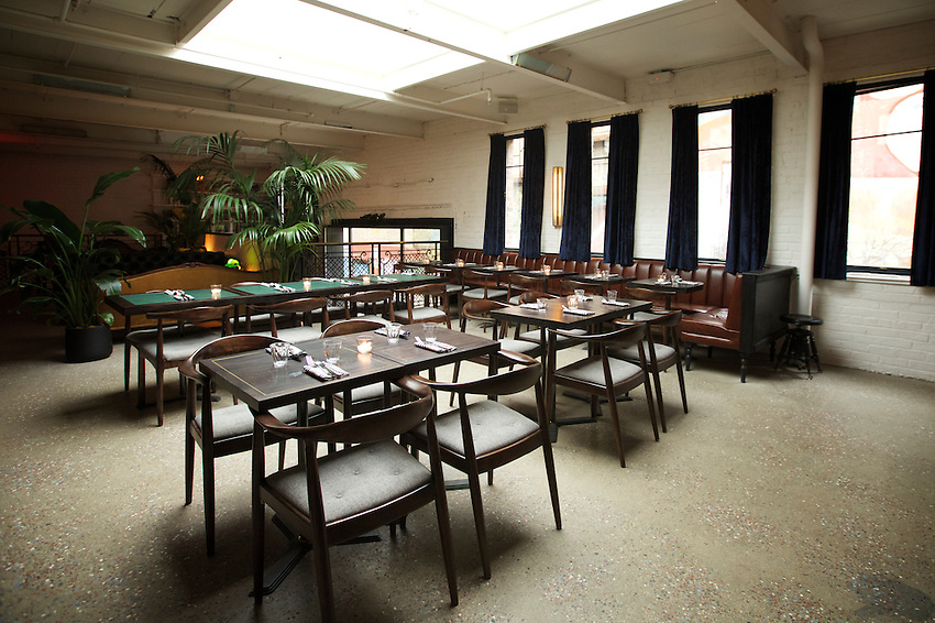 NEW YORK, NY - May 3, 2016: Metrograph Commissary, the new restaurant at Lower East Side movie theater, Metrograph opens on Thursday, May 5th.<br /> CREDIT: Clay Williams for New York Magazine.<br /> <br /> &copy; Clay Williams / claywilliamsphoto.com