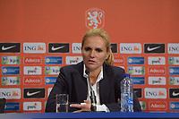 VOETBAL: HEERENVEEN: 03-09-2019, Abe Lenstra Stadion, Nederland  - Turkije vrouwenvoetbal, uitslag 3-0, trainer/coach Sarina Wiegman, ©foto Martin de Jong
