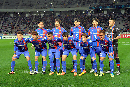 FCFC Tokyo team group Line-up, FEBRUARY 9, 2016 - Football / Soccer : AFC Champions League 2016 Play-off match between FC Tokyo 9-0 Chonburi FC at Tokyo Stadium in Tokyo, Japan. (Photo by AFLO)