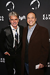 """Troy Britton Johnson and Danny Burstein attends the Broadway Opening Night of """"King Kong - Alive On Broadway"""" at the Broadway Theater on November 8, 2018 in New York City."""