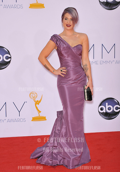 Kelly Osbourne at the 64th Primetime Emmy Awards at the Nokia Theatre LA Live..September 23, 2012  Los Angeles, CA.Picture: Paul Smith / Featureflash