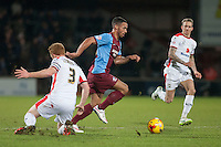 Jordan Clarke (Scunthorpe U)<br />  - Scunthorpe United vs MK Dons - Sky Bet League One Football at Glanford Park, Scunthorpe, Lincolnshire - 27/01/15 - MANDATORY CREDIT: Mark Hodsman/TGSPHOTO - Self billing applies where appropriate - contact@tgsphoto.co.uk - NO UNPAID USE