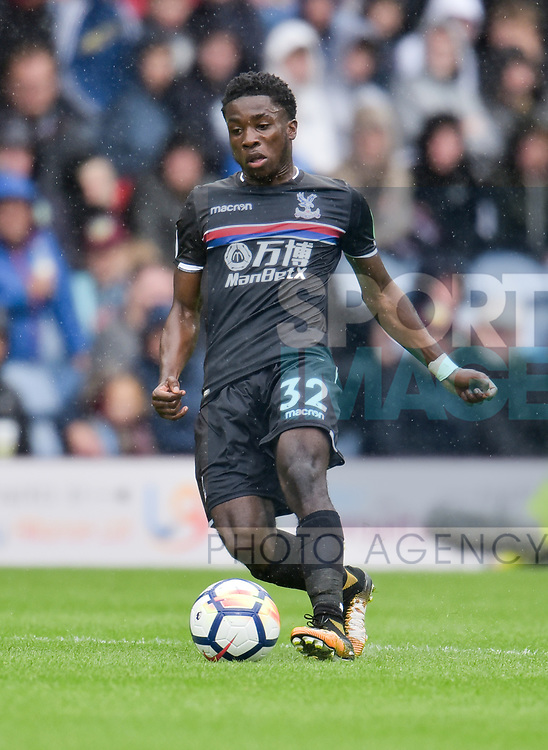 Crystal Palace's Levi Lumeka during the premier league match at the Turf Moor Stadium, Burnley. Picture date 10th September 2017. Picture credit should read: Paul Burrows/Sportimage