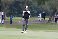 Alexander Bjorn (SWE) on the 3rd green during Round 3 of the UBS Hong Kong Open, at Hong Kong golf club, Fanling, Hong Kong. 25/11/2017<br /> Picture: Golffile | Thos Caffrey<br /> <br /> <br /> All photo usage must carry mandatory copyright credit     (&copy; Golffile | Thos Caffrey)
