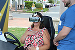 AT&T and RWJBarnabas Health teamed up to prevent distracted driving, bringing AT&T's VR simulator to Pier Village in Long Branch, NJ on Monday August 8, 2016.  Photo By Bill Denver