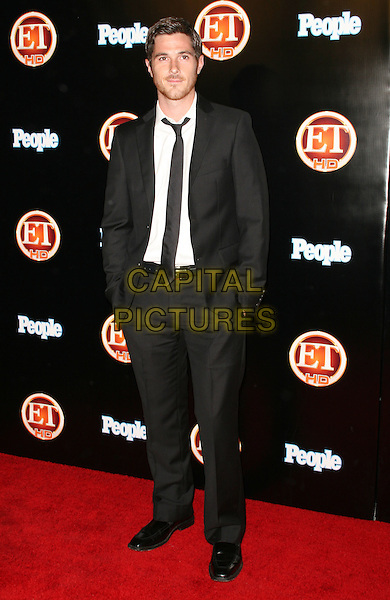 DAVE ANNABLE .Entertainment Tonight Emmy  after party Hosted by People, held The Walt Disney Concert Hall, Los Angeles, California, USA..September 21st, 2008.full length black suit .CAP/ADM/FS.©Faye Sadou/AdMedia/Capital Pictures.