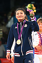 2012 Olympic Games - Wrestling - Women's 63kg Freestyle medal ceremony