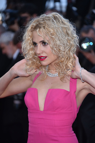 Pixie Lott<br /> 'Mal de Pierres' screeningat 69th International Cannes Film Festival, France  May 15, 2016.<br /> CAP/PL<br /> &copy;Phil Loftus/Capital Pictures /MediaPunch ***NORTH AND SOUTH AMERICA ONLY***