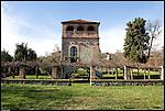 La torre nel giardino di casa Drovetti. Viaggiatore, diplomatico e collezionista Bernardino Drovetti mise assieme i reperti che furona raccolti nel primo museo di Antichità ed Egizio di Torino.