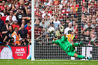 Claudio Bravo of Manchester City saves a decisive pentaly during the FA Community Shield match between Liverpool and Manchester City at Wembley Stadium on August 4th 2019 in London, England. (Photo by John Rainford/phcimages.com)<br /> Foto PHC/Insidefoto <br /> ITALY ONLY