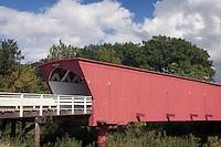 Hogback Bridge, built in 1884, Madison County, Iowa