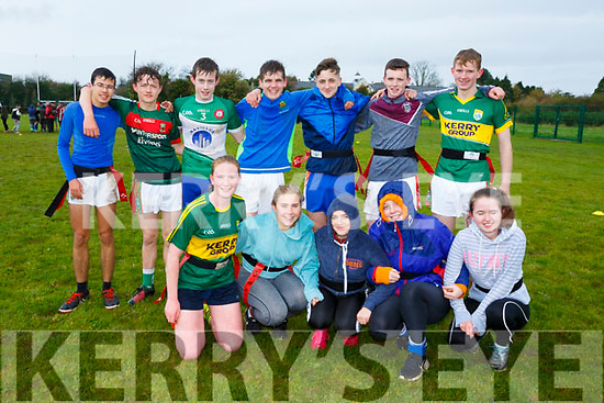 At the Kerry ETB tag rugby tournament at Tralee Sports Complex on Friday were Coláiste na Sceilge Caherciveen A Team