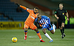 09.02.2019: Kilmarnock v Rangers : Jermain Defoe and Youssouf Mulumbu