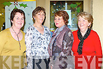 Noreen Mangan, Agnes Foley, Margaret Mangan and Madge Gill attending the Laune Rangers 1958 team that Golden anniversary celebrations in Bunkers bar, Killorglin on Saturday night   Copyright Kerry's Eye 2008
