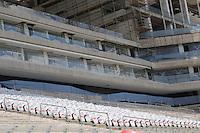 SAO PAULO, SP, 20.01.2014 - VISITA FIFA ARENA DE SAO PAULO -  Visita FIFA a Arena de São Paulo (Itaquerao) estádio que sediara a abertura da Copa do Mundo em Junho, na região leste de Sao Paulo, nesta segunda-feira, 20. (Foto: Vanessa Carvalho / Brazil Photo Press).