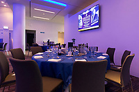 A general view of the matchday hospitality set-up. The Clash, Aviva Premiership match, between Bath Rugby and Leicester Tigers on April 7, 2018 at Twickenham Stadium in London, England. Photo by: Matt Impey / Wired Photos for Onside Images