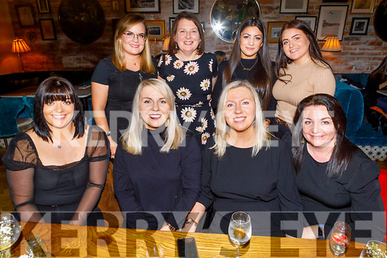 Enjoying Women's Christmas in the Ashe Hotel on Saturday<br /> Seated l to r: Jolie Sheehy, Sarah Hickenson, Ann Lynch and Theresa Nolan.<br /> Back l to r: Lorie O'Connor, Liz O'Shea, Jovana Nikolic and Heather Lee.