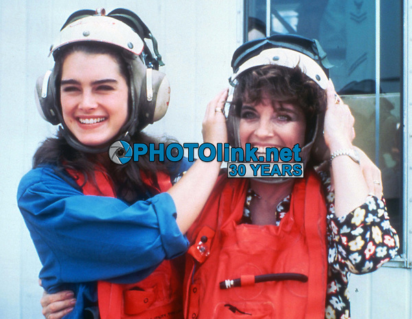 #BrookeShields #LindaGray 1984<br /> Photo By Adam Scull/PHOTOlink.net