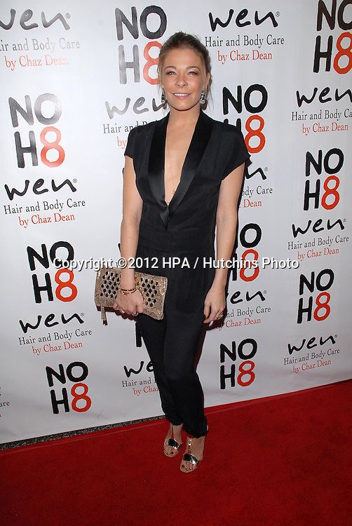 LOS ANGELES - DEC 12:  LeAnn Rimes arrives to the NOH8 4th Anniversary Party at Avalon on December 12, 2012 in Los Angeles, CA