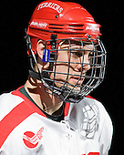 Adam Clendening (BU - 5) is announced as a starter. - The Boston University Terriers defeated the visiting Providence College Friars 6-1 on Friday, January 20, 2012, at Agganis Arena in Boston, Massachusetts.