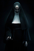 The Nun (2018) <br /> BONNIE AARONS as The Nun<br /> *Filmstill - Editorial Use Only*<br /> CAP/MFS<br /> Image supplied by Capital Pictures