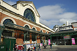 Exterior view of the London Transport Museum in Covent Garden, London