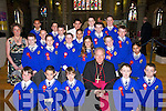 Bishop Bill Murphy confirmed these pupils from CBS Primary School, Clounalour, Tralee, on Friday in St Johns Church, Tralee. Front row l-r: Jordan Flood, Jonathan Culloty, Dominick Horgan, Oliver OMahony and Jared OSullivan. Middle row l-r: Dylan OConnor-Desmond, Barter Dorosz, Sean ONeill, Patrycja Buczynska, Conor McCarthy and Nicola Busaova. Back row l-r: Katie Fox (Teacher), Slavka Zigova, Chris Reidy, Sean OConnor, Robbie OMahony, David Hanak, Roman Hricko, Michael Wrenn, Robert Tuohy, Gavin OSullivan and Brendan OBrien..