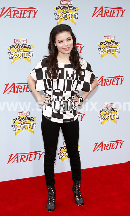 **ALL ROUND PICTURES FROM SOLARPIX.COM**.**SYNDICATION RIGHTS FOR UK, AUSTRALIA, DENMARK, PORTUGAL, S. AFRICA, SPAIN & DUBAI (U.A.E) ONLY**.arrivals for the Variety's 3rd Annual Power of Youth Event at the Paramount Pictures Studios, Hollywood, CA, USA. 5 December 2009..This pic: Miranda Cosgrove..JOB REF: 10364 PHZ Gaboury   DATE: 05_12_2009.**MUST CREDIT SOLARPIX.COM OR DOUBLE FEE WILL BE CHARGED**.**MUST NOTIFY SOLARPIX OF ONLINE USAGE**.**CALL US ON: +34 952 811 768 or LOW RATE FROM UK 0844 617 7637**