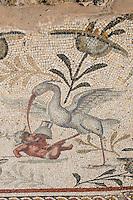 Villa Sileen, near al-Khoms, Libya - Byzantine Mosaic