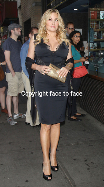 NEW YORK, NY - AUGUST 12: Jennifer Coolidge at the screening for the film 'Austenland' at the Landmark Sunshine Cinema in New York City. August 12, 2013. <br />