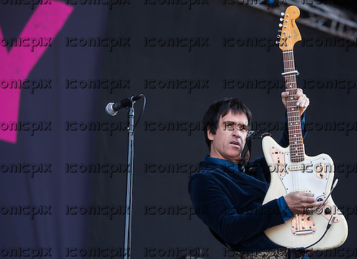 JOHNNY MARR - performing live at Finsbury Park in London UK - 08 June 2013.  Photo credit: Iain Reid/IconicPix