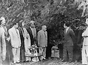 Iraq 1953.Visit to Kirkuk of king Faycal II, meeting with Kakai personalities  Irak 1953<br />