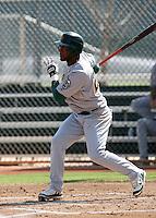 Alex Valdez / Oakland Athletics 2008 Instructional League..Photo by:  Bill Mitchell/Four Seam Images