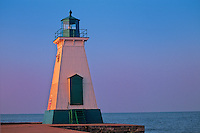 Lighthouse on Lake Huron<br /> Ste Catherines<br /> Ontario<br /> Canada