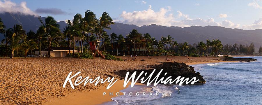 Haleiwa Alii Beach Park, North Shore, Oahu, Hawaii, USA.