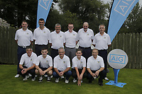 Warrenpoint Golf CLub team during the final of the AIG Jimmy Bruen Ulster Final at Dungannon Golf Club, Dungannon, Tyrone, Ireland. 11/08/2017<br /> Picture: Fran Caffrey / Golffile