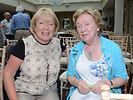 Imelda Hurst and Mary Kieran pictured at the Ledwidge day in Tankardstown House. Photo:Colin Bell/pressphotos.ie