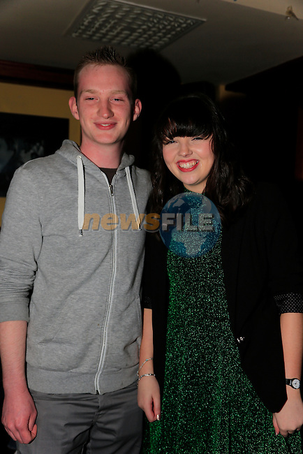James Murray and Natalie leddy at James 21th in McHughs<br /> <br />  Picture: Fran Caffrey www.newsfile.ie