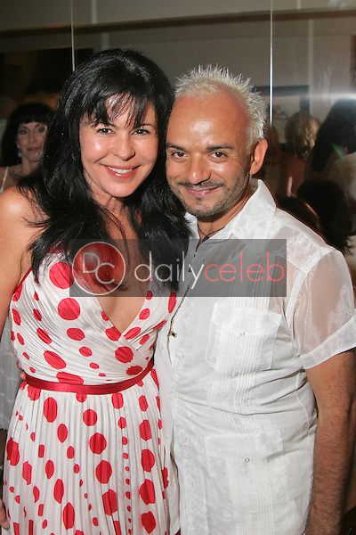 Maria Conchita Alonso and Sergio Lopez<br />