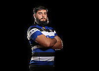 Will Vaughan poses for a portrait at a Bath Rugby photocall. Bath Rugby Photocall on November 22, 2016 at Farleigh House in Bath, England. Photo by: Rogan Thomson / JMP / Onside Images