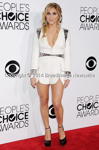 Pictured: Cassie Scerbo<br /> Mandatory Credit &copy; Gilbert Flores /Broadimage<br /> 2014 People's Choice Awards <br /> <br /> 1/8/14, Los Angeles, California, United States of America<br /> Reference: 010814_GFLA_BDG_124<br /> <br /> Broadimage Newswire<br /> Los Angeles 1+  (310) 301-1027<br /> New York      1+  (646) 827-9134<br /> sales@broadimage.com<br /> http://www.broadimage.com