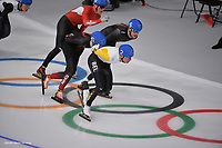 OLYMPIC GAMES: PYEONGCHANG: 24-02-2018, Gangneung Oval, Long Track, Bart Swings, ©photo Martin de Jong