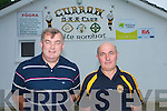 Currow GAA area appealing for financial support to further boost the development of the local club who in recent years have undertaken major works to ensure that it caters for the needs of all the players and supporters in the area. .L-R Club Chairman Paddy O'Callaghan and Treasurer John Fleming