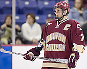 Peter Harrold - The Boston College Eagles defeated the University of Massachusetts-Lowell River Hawks 4-3 in overtime on Saturday, January 28, 2006, at the Paul E. Tsongas Arena in Lowell, Massachusetts.