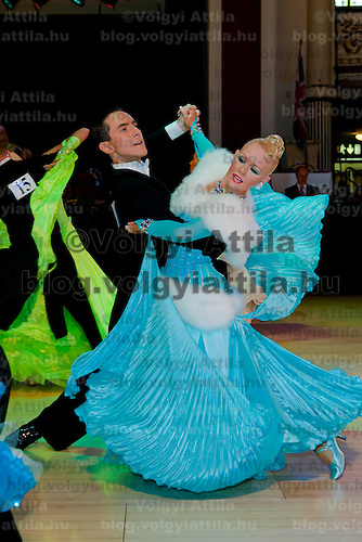 Liam Mclaren and Lenae Piconi from Australia perform their dance in the Amateur Rising Stars Ballroom competition of the Blackpool Dance Festival the most famous event among dance competitions held in Blackpool, United Kingdom on June 01, 2011. ATTILA VOLGYI