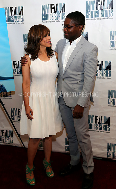 www.acepixs.com<br /> <br /> August 1 2016, New York City<br /> <br /> Actors Rosie Perez (L) and David Oyelowo at the 'Five Nights In Maine' New York Film Critics Screening at the AMC Empire 25 theater on August 1, 2016 in New York City.<br /> <br /> By Line: Serena Xu/ACE Pictures<br /> <br /> <br /> ACE Pictures Inc<br /> Tel: 6467670430<br /> Email: info@acepixs.com<br /> www.acepixs.com